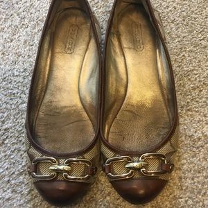 Coach Shoes - Coach flats size 5